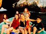 Fun family trips! From Panga from the condo beach.