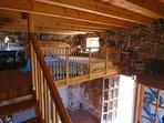 Vista del cuarto desde el descansillo de la escalera