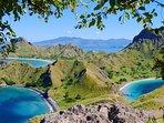 Pulau Padar beaches