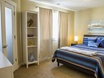 Master Bedroom with Walk-In closet and Bathroom.