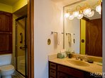 This is the only ground-floor condo with a walk-in shower