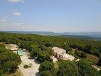 Une vue imprenable sur la Drôme Provençale et le Mont Ventoux