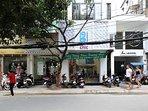 Front of our 19B Hotel Apartment and Nail Salon, located at 19B Le Thi Rieng, Ben Thanh
