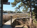 Walkway to Creek Dock