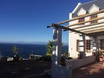 All windows look over False Bay from this spectacular location high on the mountainside