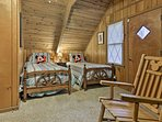 Your kids will fall right to sleep in the twin beds.