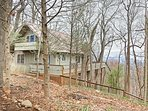 The home is located just a few miles outside of lovely Dahlonega.