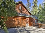 Escape to the mountains at this Lake Arrowhead vacation rental home.