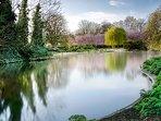 Ravenscourt Park - 7 minutes walk.