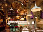 Bills - fun interior, great for a varied lunch.