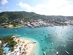 Danish Town of Christiansted short distance from Condo