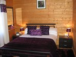 Holly Lodge Double Bedroom (with ensuite).