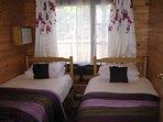 Cherry Lodge Twin Bedroom