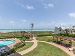Picic areas, swimming pool, and beach access right outside