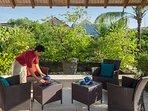 Villa Shinta Dewi - Sundeck