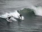 Surfing - Coldingham - Lessons available at St Vedas Surf School.