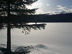 April 2018. A long winter on Higgins Lake
