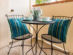 You will love this bistro table on the private patio just outside the master suite.