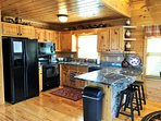 A Change In Altitude - kitchen