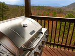 Enjoy grilling out in the evenings and watching the sunset from the balcony.