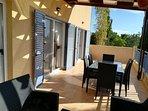 Unsere wunderschöne Terrasse nur für Sie!