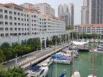 Straits Quay Marina with spacious promenade