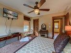 Queen Bedroom Suite Upstairs with HDTV
