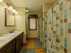 Private ensuite Master Bathroom with Double Vanities