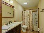 Full Hallway Bathroom on Main Level
