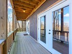 Lower Rear Deck off of Family Room