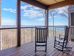 Impressive Mountain Top Views from the Deck at Condo 202