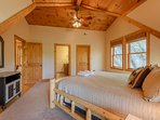 2nd Upstairs Bedroom with King Bed