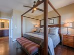 King Four Poster Bed in Master Suite