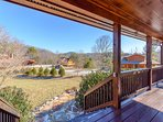 Mountain Views across the Watauga River Valley from the Front Porch at Absolute Serenity