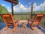 Seaforth Comfortable seating with plenty of views off of deck