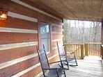 Trailhead Cabin Covered Porch