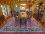Seaforth Large Elegant Dining Table Seats 10