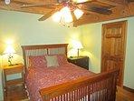 Trailhead Cabin Queen Bedroom