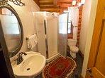 Seaforth Full bathroom on main level