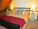 Trailhead Cabin Master Bedroom