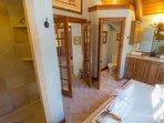 Seaforth Designer Tile Shower in Master Bath