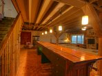 Majestic Mountain Haus One-of-a-kind 200 year-old Lacquered Wood Bar