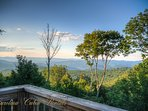 Pinecone Manor Breathtaking View from Deck