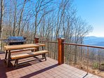 Captivating Long Range View off Deck