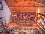 Pinecone Manor Cozy, Comfy Reading Nook in Loft