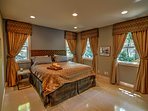 Heavenly Manor King Bedroom on Main Floor