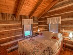 Johnsons Lodge Bedroom, Upper Level, Original Cabin Wing