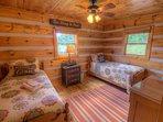 Twin Bedroom on Main Level