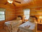 Deer Run Twin Bedroom