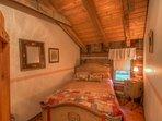Johnsons Lodge Second Bedroom, Upper Level, Original Cabin Wing